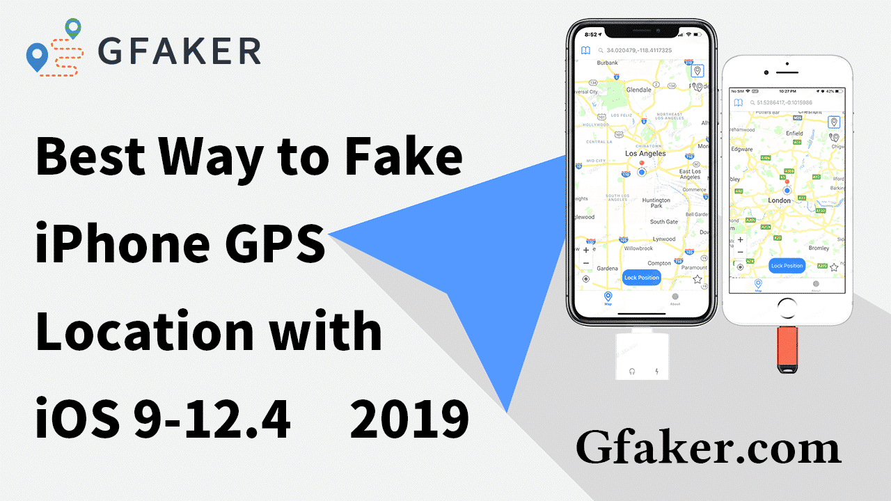 simulate iphone gps location